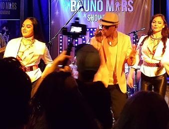 Bruno Mars Tribute Show